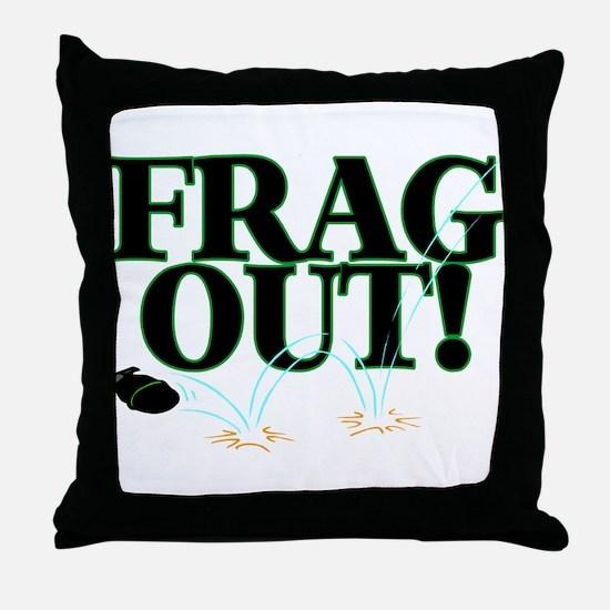 Frag Out Throw Pillow