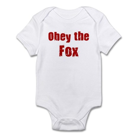 Obey the Fox Infant Bodysuit