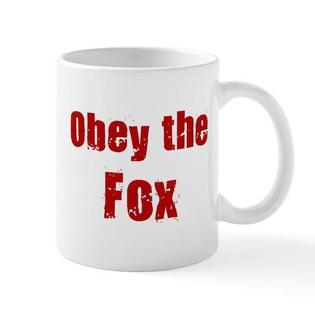 Obey the Fox Mug