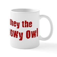Obey the Snowy Owl Mug