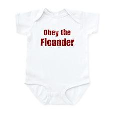 Obey the Flounder Infant Bodysuit
