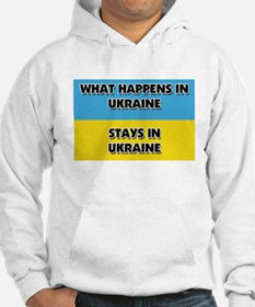 What Happens In UKRAINE Stays There Hoodie
