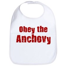 Obey the Anchovy Bib