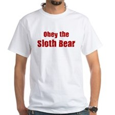 Obey the Sloth Bear Shirt