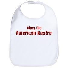 Obey the American Kestrel Bib