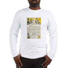 Swiss 1908 Pro-Absinthe Propaganda Long Sleeve T-S