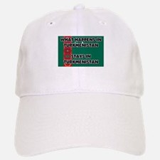 What Happens In TURKMENISTAN Stays There Baseball Baseball Cap