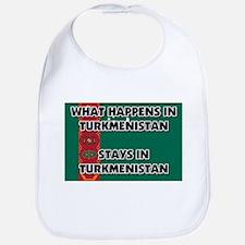 What Happens In TURKMENISTAN Stays There Bib
