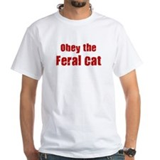 Obey the Feral Cat Shirt