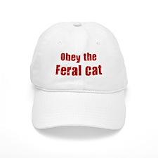 Obey the Feral Cat Baseball Cap