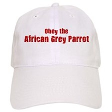 Obey the African Grey Parrot Baseball Cap