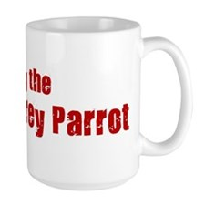 Obey the African Grey Parrot Mug