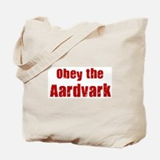 Obey the Aardvark Tote Bag