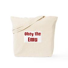 Obey the Emu Tote Bag