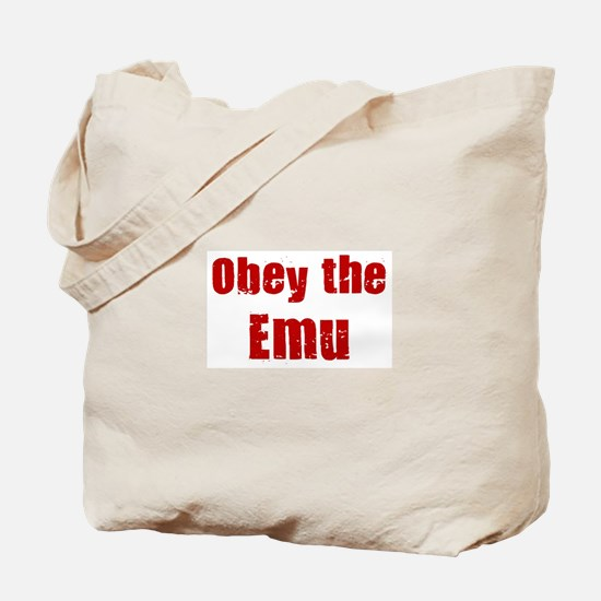 Obey the Emu Tote Bag