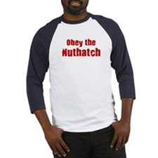 Obey the Nuthatch Baseball Jersey