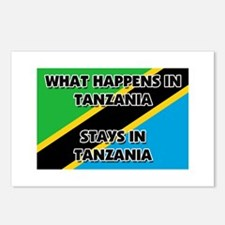 What Happens In TANZANIA Stays There Postcards (Pa
