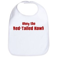 Obey the Red-Tailed Hawk Bib