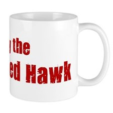 Obey the Red-Tailed Hawk Mug
