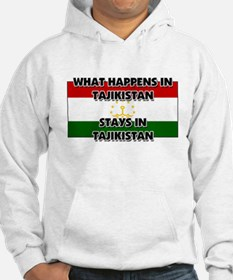 What Happens In TAJIKISTAN Stays There Hoodie