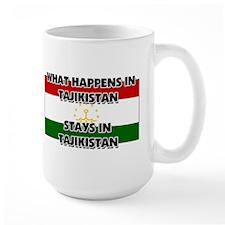 What Happens In TAJIKISTAN Stays There Mug