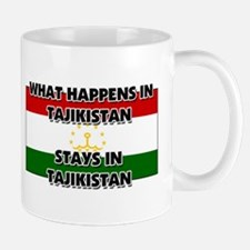 What Happens In TAJIKISTAN Stays There Mug