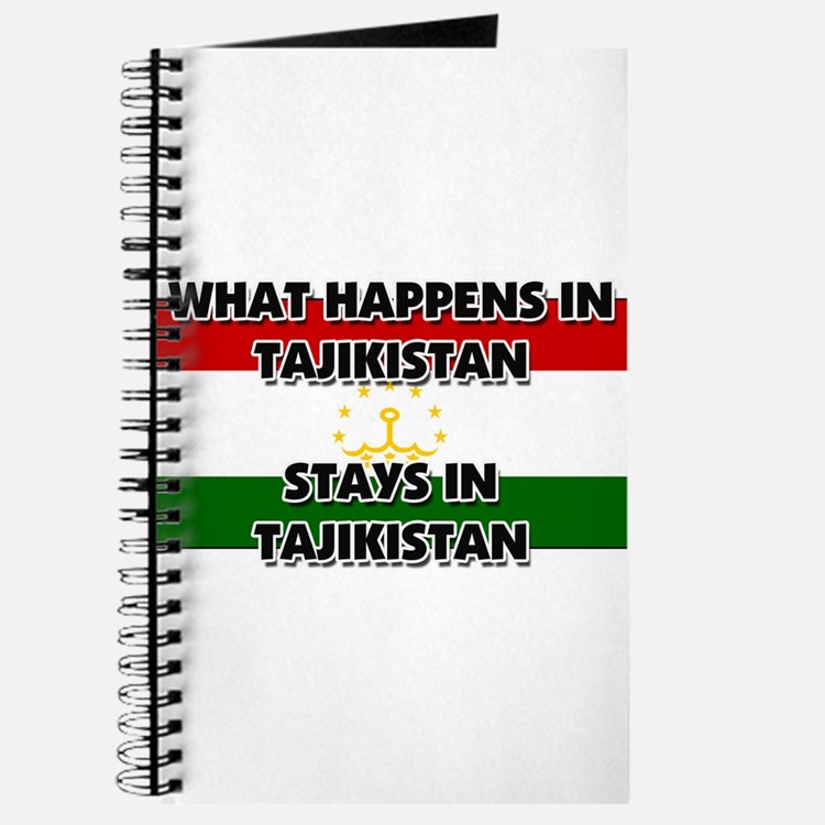 What Happens In TAJIKISTAN Stays There Journal