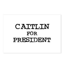Caitlin for President Postcards (Package of 8)