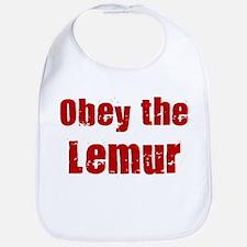 Obey the Lemur Bib