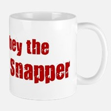 Obey the Red Snapper Mug