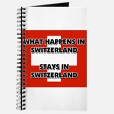What Happens In SWITZERLAND Stays There Journal