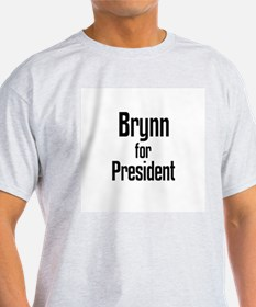 Brynn for President Ash Grey T-Shirt