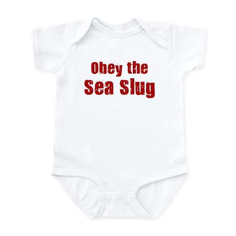 Obey the Sea Slug Infant Bodysuit
