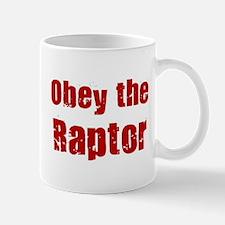 Obey the Raptor Mug