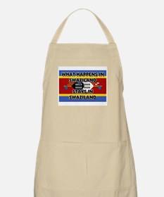 What Happens In SWAZILAND Stays There BBQ Apron
