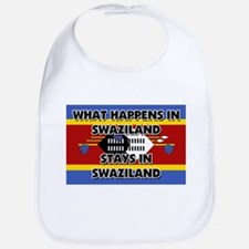 What Happens In SWAZILAND Stays There Bib