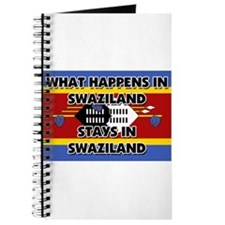 What Happens In SWAZILAND Stays There Journal