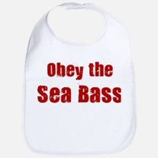 Obey the Sea Bass Bib