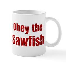Obey the Sawfish Mug