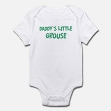 Daddys little Grouse Infant Bodysuit