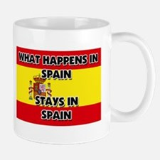 What Happens In SPAIN Stays There Mug