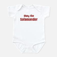 Obey the Salamander Infant Bodysuit