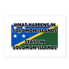 What Happens In SOLOMON ISLANDS Stays There Postca