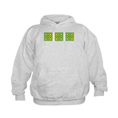 Dutch Gold And Yellow Design Hoodie