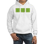 Dutch Gold And Yellow Design Hooded Sweatshirt