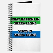 What Happens In SIERRA LEONE Stays There Journal