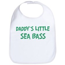 Daddys little Sea Bass Bib