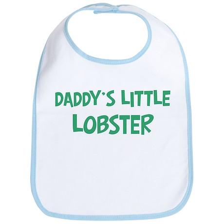 Daddys little Lobster Bib