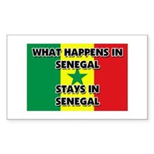 What Happens In SENEGAL Stays There Decal