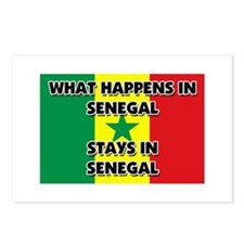 What Happens In SENEGAL Stays There Postcards (Pac